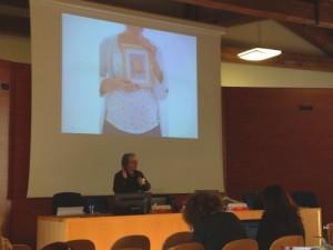 Jackie Marsh na conferência Digital Literacy
